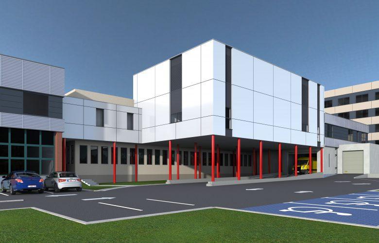 photo projet Extension et reconditionnement du bloc opératoire de l'hôpital de Ath