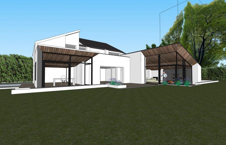 photo projet Extension d'une villa à Uccle