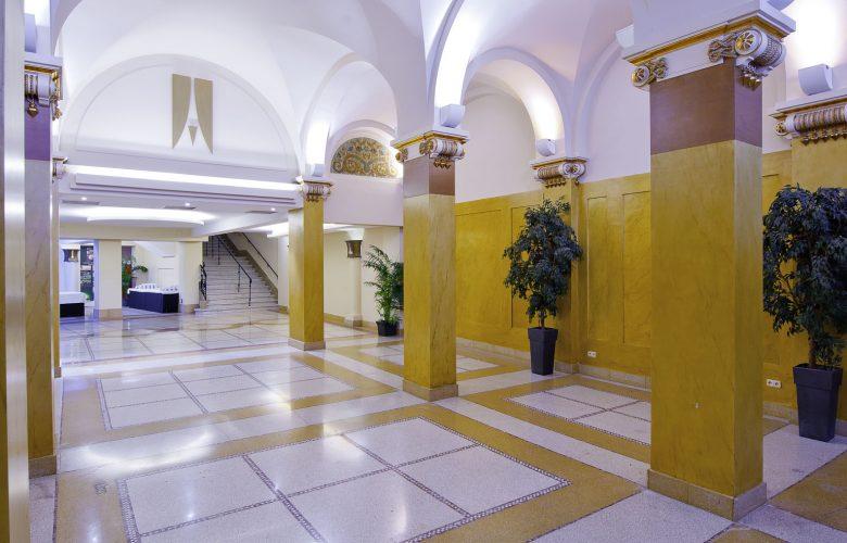 photo projet HOTEL MARIVAUX VENDOME Bruxelles | rénovation lourde d'un Hotel avec Salles de réception classées et Centre de conférences | 95 chambres