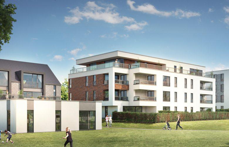 photo projet Construction de quatre unités de logements à Thuin