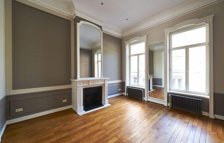 photo projet Création de 3 appartements dans une maison de maître à Saint-Gilles