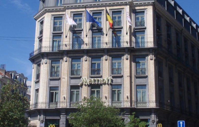 photo projet Hotel MARRIOTT BRUSSELS | Reconstruction d'un Hotel en face de la Bourse | 220 Chambres