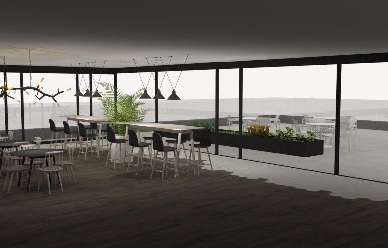 photo projet Hotel Merignies | Avant-projet d'hotel sur un golf